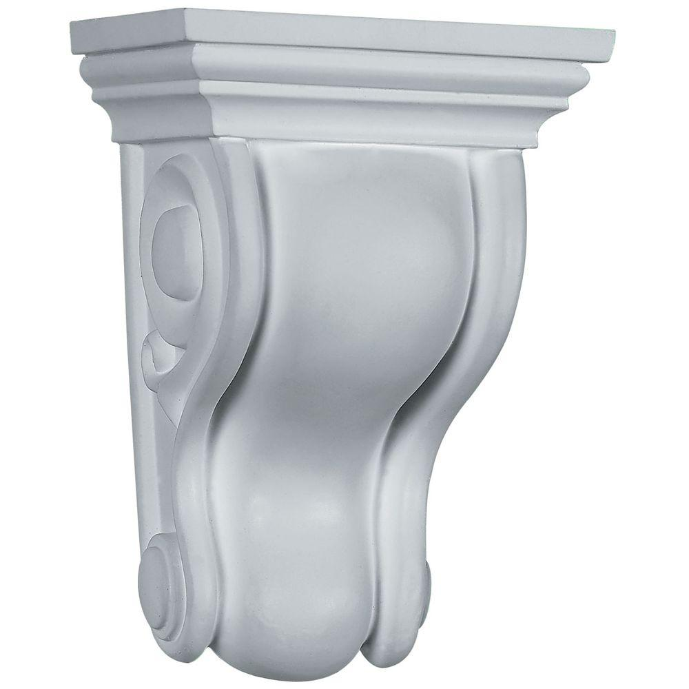 4-3/4 in. x 3-1/2 in. x 6-3/4 in. Primed Polyurethane Traditional