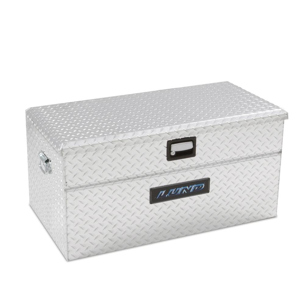 Lund 36 in Aluminum Flush Mount Truck Tool Box9436T The Home Depot