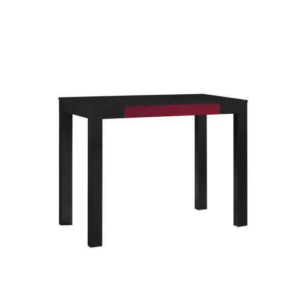 Ameriwood Home Nelson Sleek Black Computer Desk HD92254