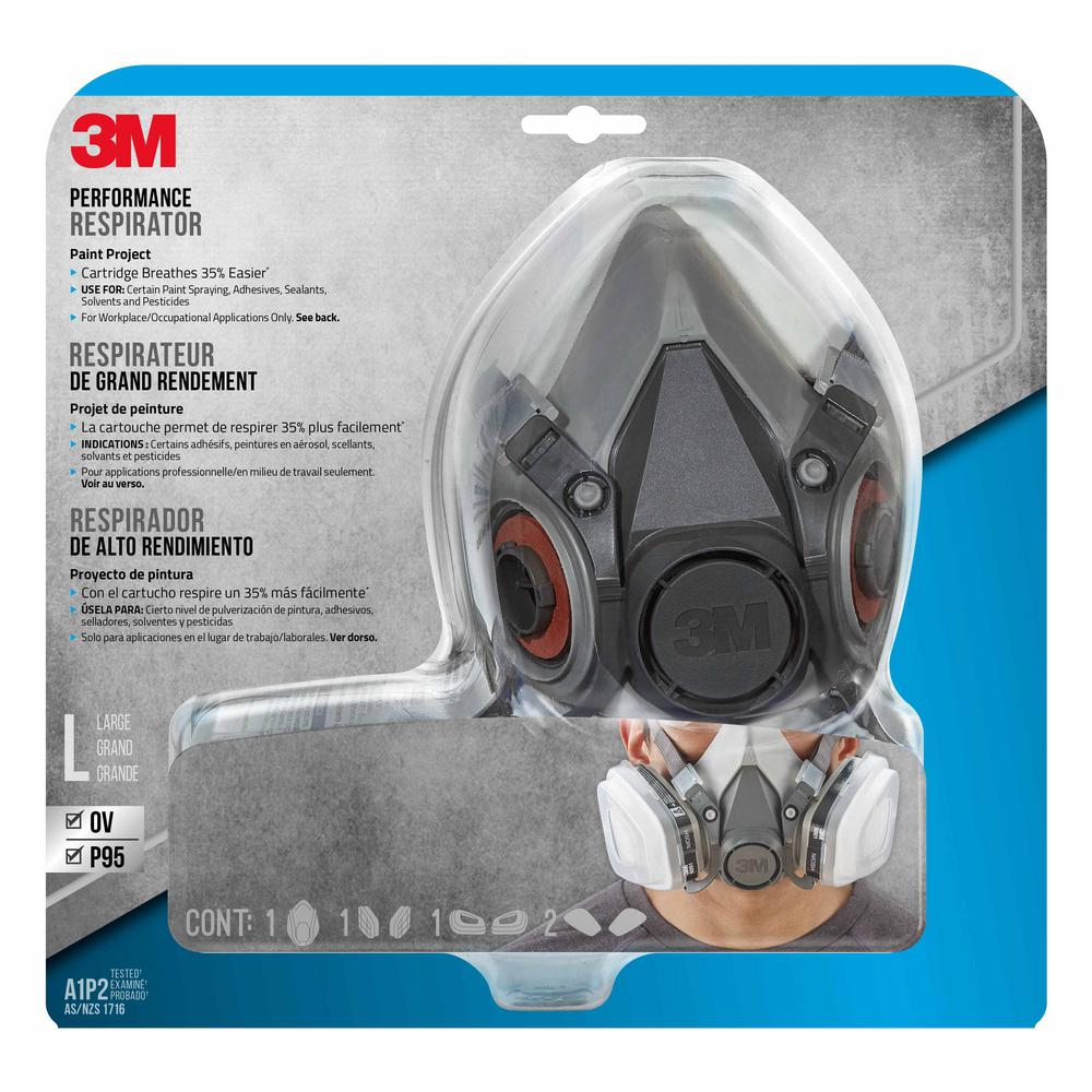 3m respirator mask for chemicals