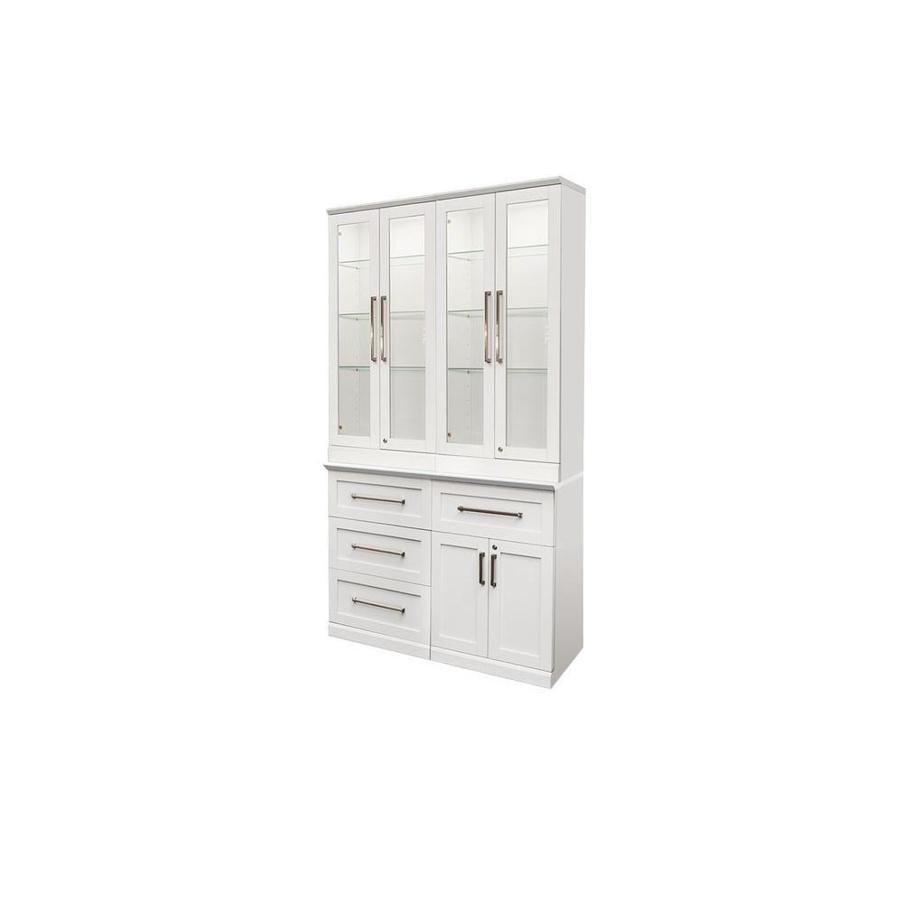 Woodgrain Bar Cabinet