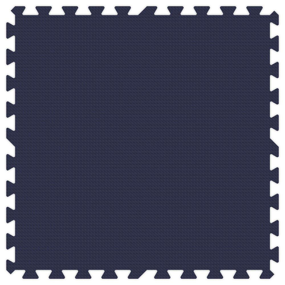 Navy Blue 24 in. x 24 in. Comfortable Mat (100 sq.ft.
