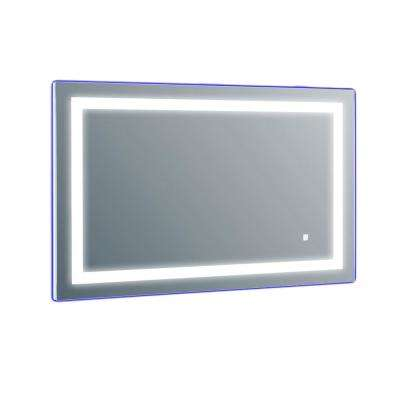 Era 24 in. W x 24 in. H LED Wall Mounted Vanity Bathroom LED Mirror in Aluminum