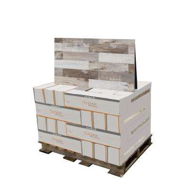 Painted Wood Beige 6 in. x 24 in. Porcelain Floor and Wall Tile (480 sq. ft. / pallet)