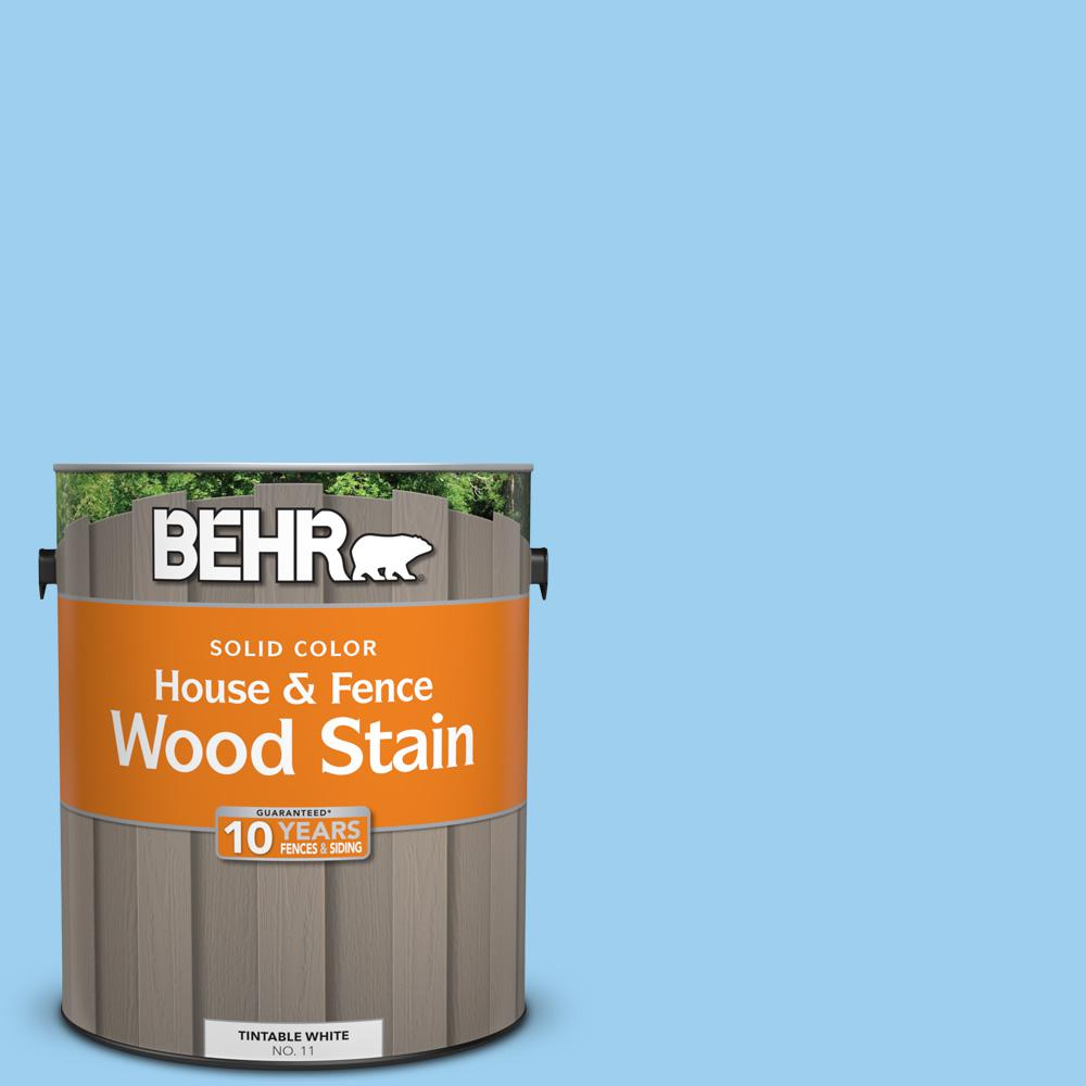 P500 3 Spa Blue Solid House And Fence Exterior Wood Stain
