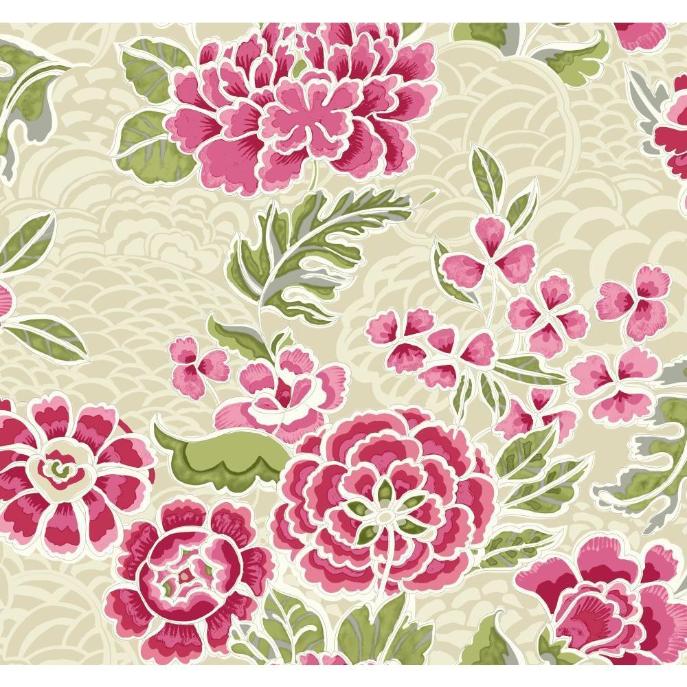 Global Chic Zen Garden Wallpaper