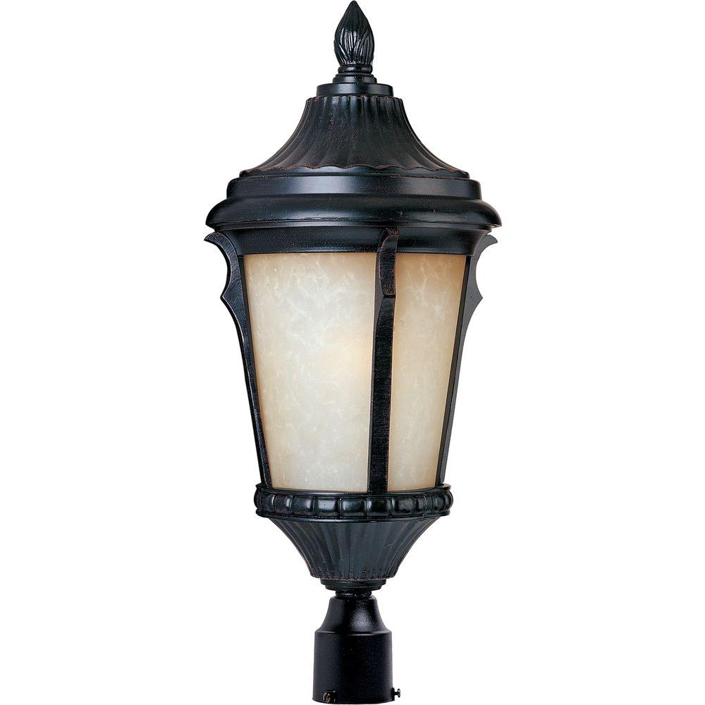 Maxim Lighting Odessa EE 4-Light Espresso Outdoor Pole/Post Mount