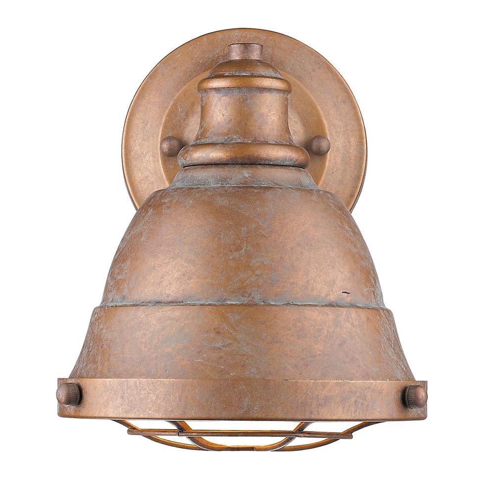 Copper - 3 Light - Sconces - Lighting - The Home Depot