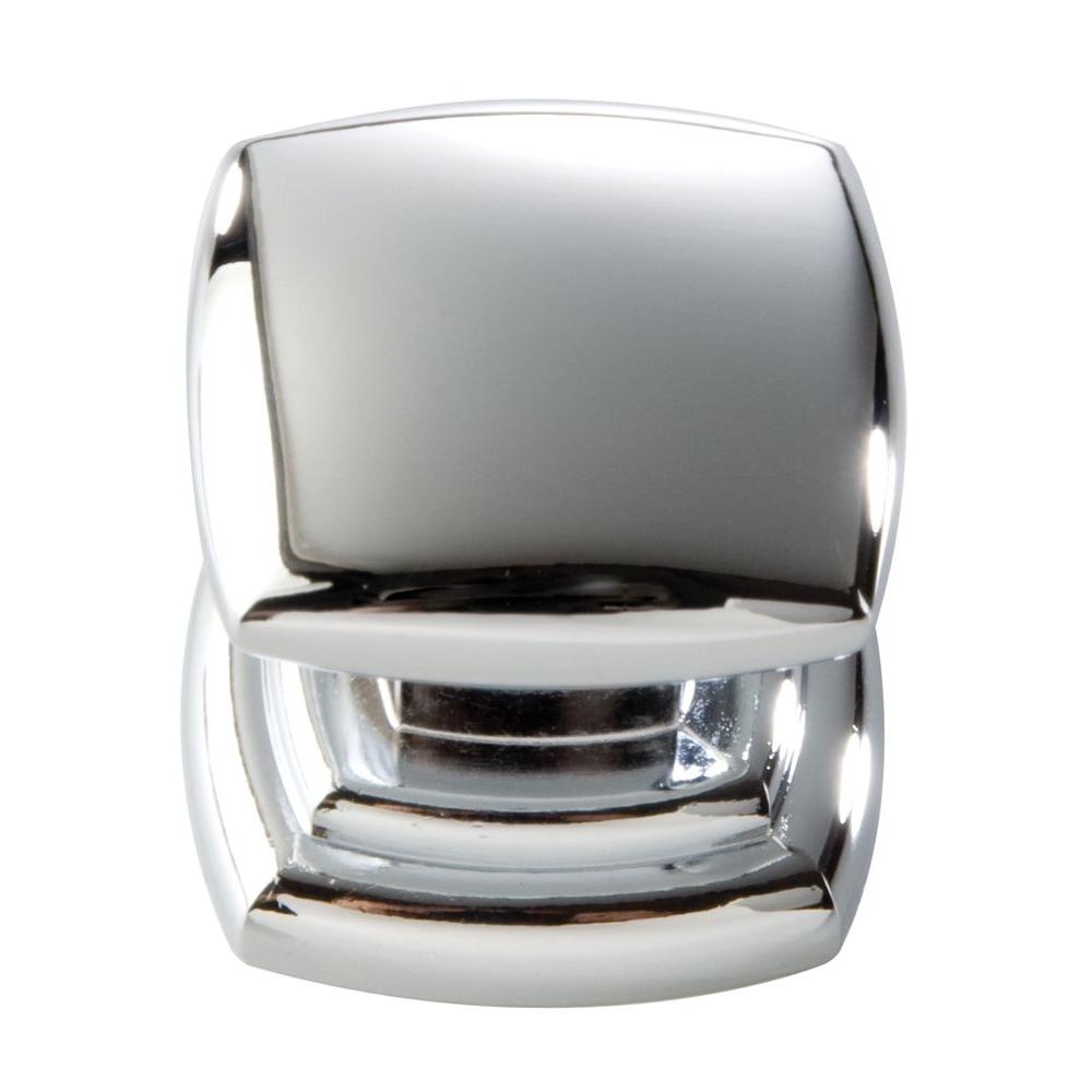 Hickory Hardware 1-1/4 in. Chrome Cabinet Knob-P3181-CH - The Home ...