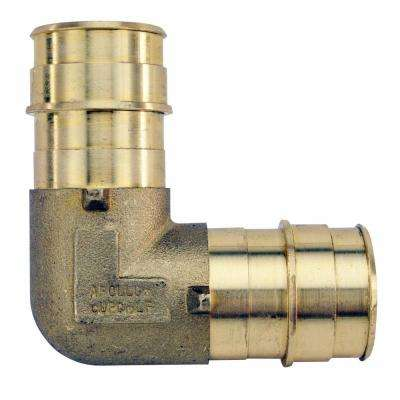 1 in. Brass PEX-A Expansion Barb 90 Elbow