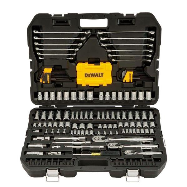 1/4 in., 3/8 in. and ½ in. Drive Polished Chrome Mechanics Tool Set (168-Piece)