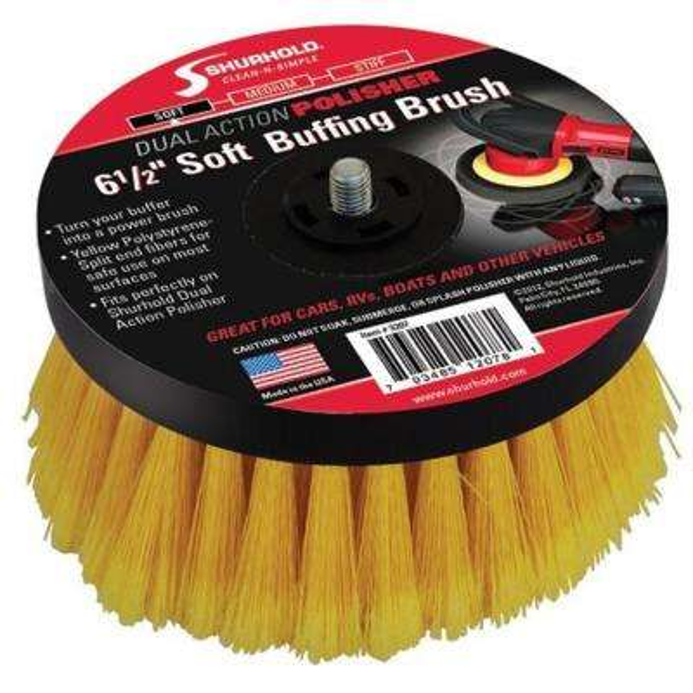 Medium Brush for Dual Action Polisher