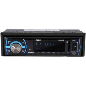 Pyle Digital Marine Stereo Receiver with Bluetooth in White
