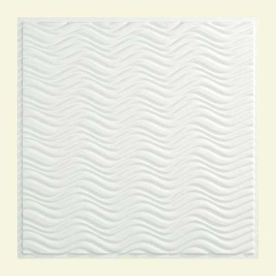 Current - 2 ft. x 2 ft. Lay-in Ceiling Tile in Matte White