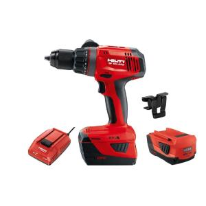 hilti 22 volt sf 6h advanced compact lithium ion cordless keyless 1 2 in chuck drill driver w. Black Bedroom Furniture Sets. Home Design Ideas