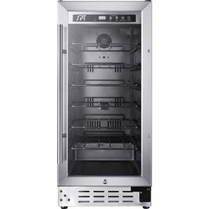 Click here to buy SPT 15 inch 33-Bottle Under-Counter Wine Cooler Commercial Grade by SPT.