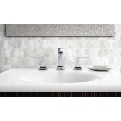 Rubicon 8 in. Widespread 2-Handle Bathroom Faucet in Polished Chrome