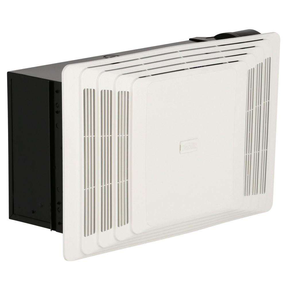 Broan 70 Cfm Ceiling Bathroom Exhaust Fan With Heater 658 The Home
