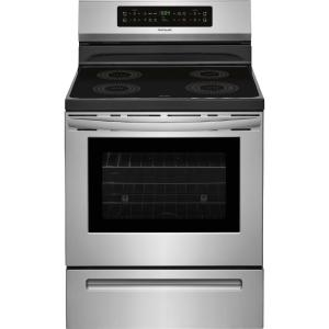 Frigidaire 30 inch 5.4 cu. ft. Induction Range with Self-Cleaning Oven in Stainless Steel by Frigidaire