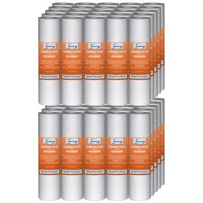 10 Micron 10 in. x 2.5 in. Sediment Filter Cartridges (Pack of 50)