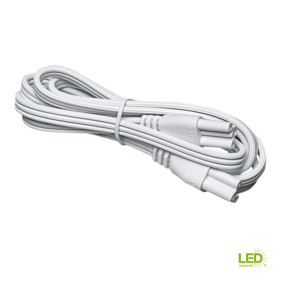 Commercial Electric 5 ft. Linking Cord for 1 Light Strips and Shoplight