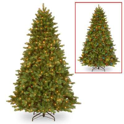 7.5 ft. PowerConnect(TM) Georgetown Fir with Dual Color LED Lights