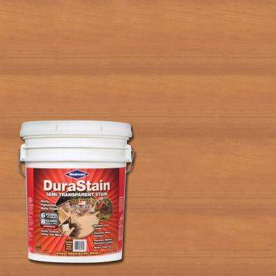5 gal. DuraStain Natural Cedar Semi-Transparent Exterior Wood and Deck Stain