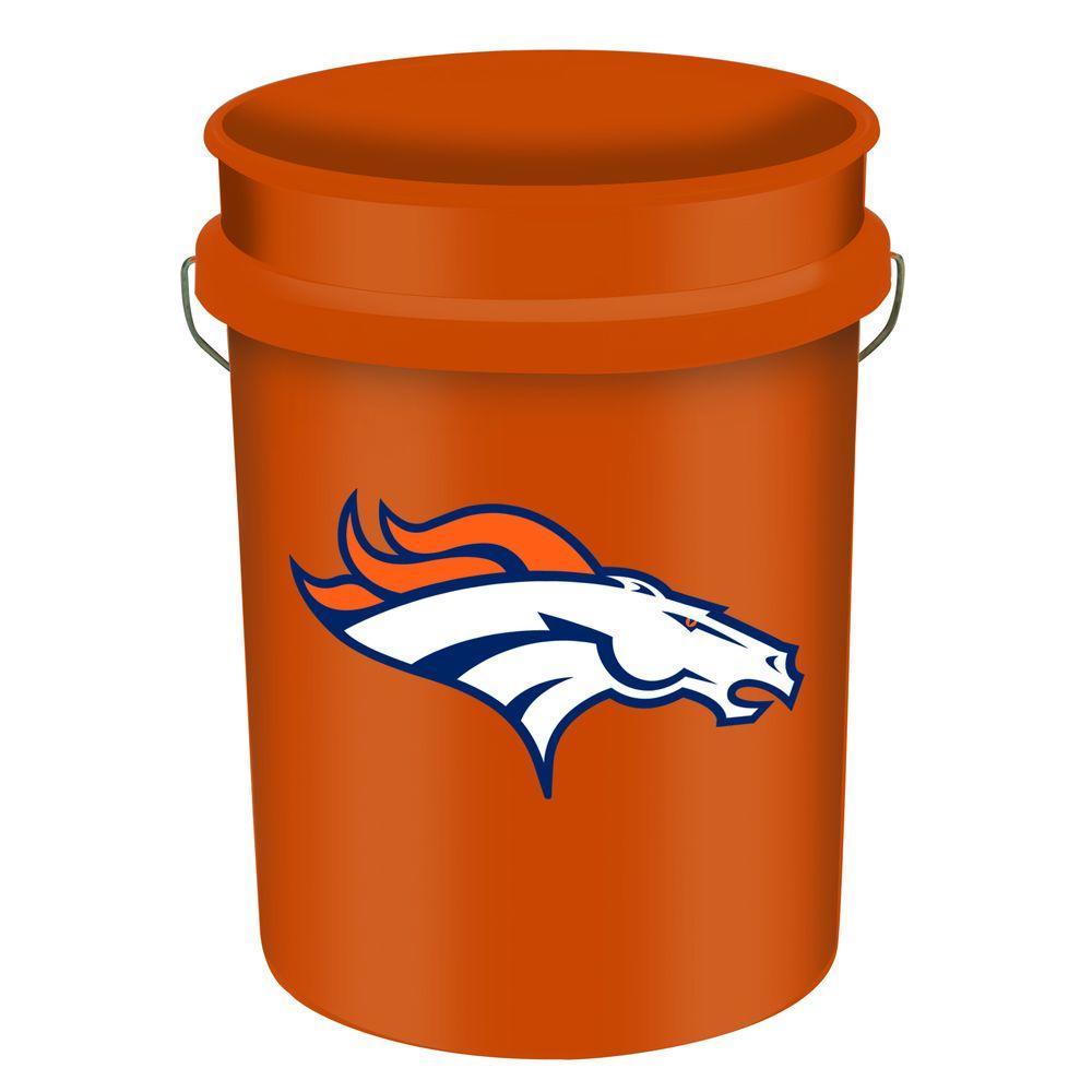 WinCraft Broncos 5-gal. Bucket
