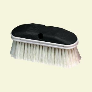 Carlisle Styrene 9 inch Vehicle Brush in White (Case of 12) by Carlisle