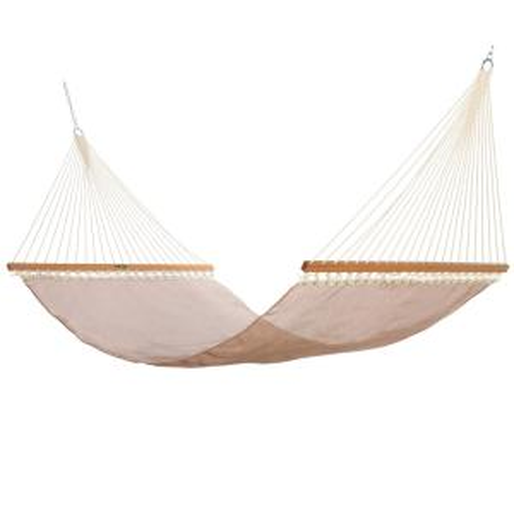 Click here to buy  13 ft. Large Sunbrella Textilene Hammock in Framework Copper.