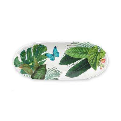 Amazon Floral Melamine Appetizer Tray