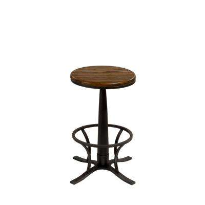 Rivage 26 in. Steel Gray Counter Stool