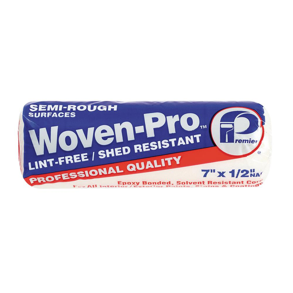 Woven-Pro 7 in. x 1/2 in. Woven Polyester Roller Cover (3...