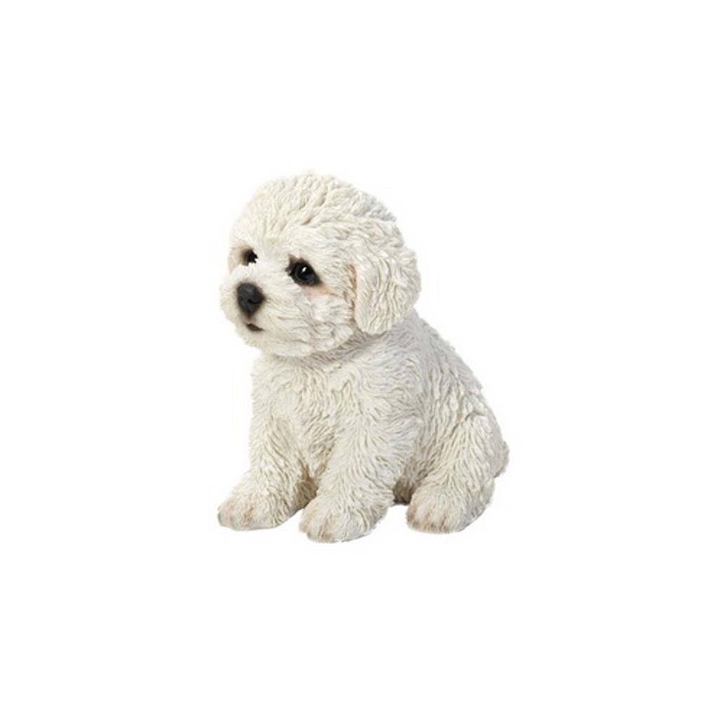 Bichon Frise Puppy Statue