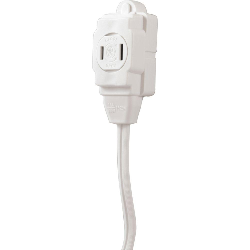 GE 9 ft. 2-Wire 16-Gauge Polarized Indoor Extension Cord-51947 - The ...