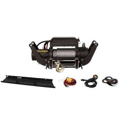 10,000 lb. Truck/Jeep Winch Kit with Speed Mount Hitch Adapter