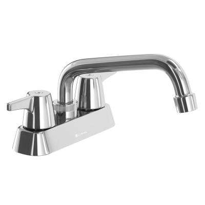Aragon 4 in. Centerset 2-Handle Laundry Faucet in Chrome