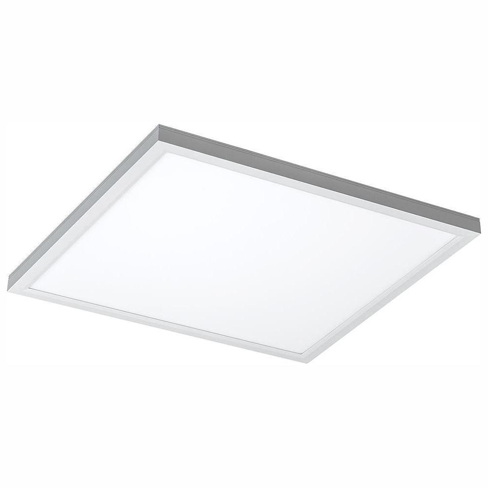 Eti Commercial Drop Ceiling 2 Ft X 2 Ft White 5000k Dimmable Integrated Led Flat Panel Troffer