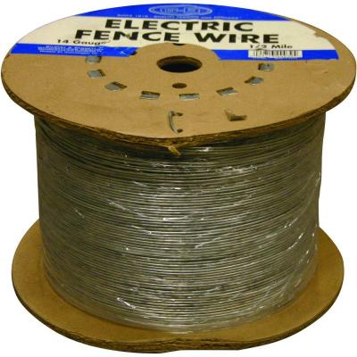 Strange Farmgard 1 2 Mile 17 Gauge Electric Fence Wire 317752A The Home Depot Wiring 101 Vieworaxxcnl