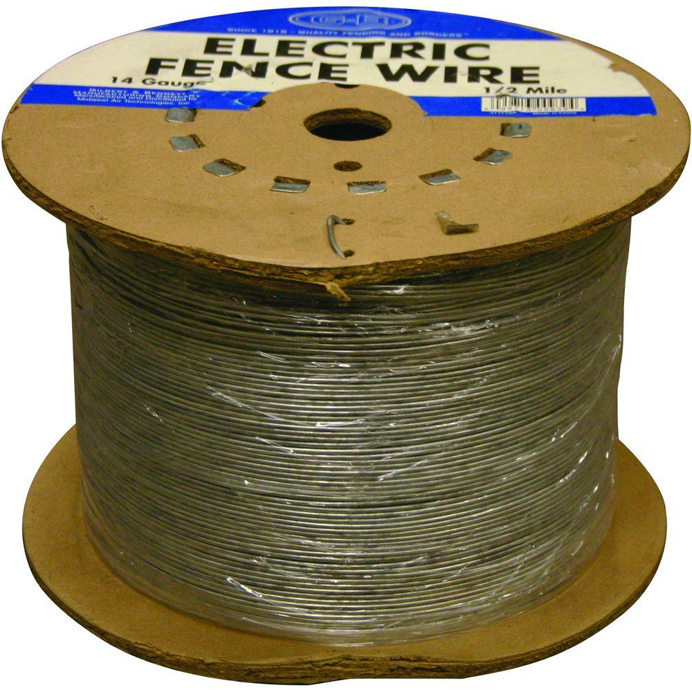 YARDGARD 1/2 Mile 14-Gauge Electric Fence Wire-317772A - The Home Depot