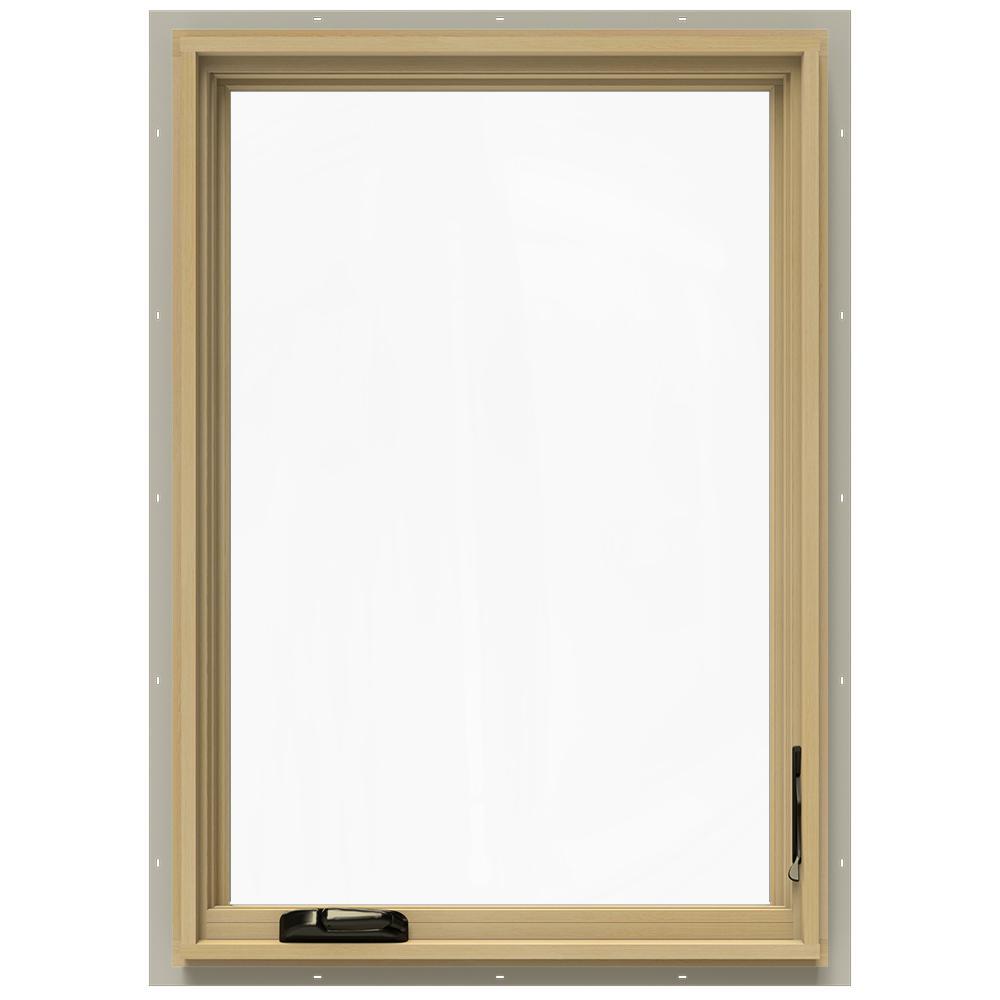 24.75 in. x 40.75 in. W-2500 Right-Hand Casement Wood Window