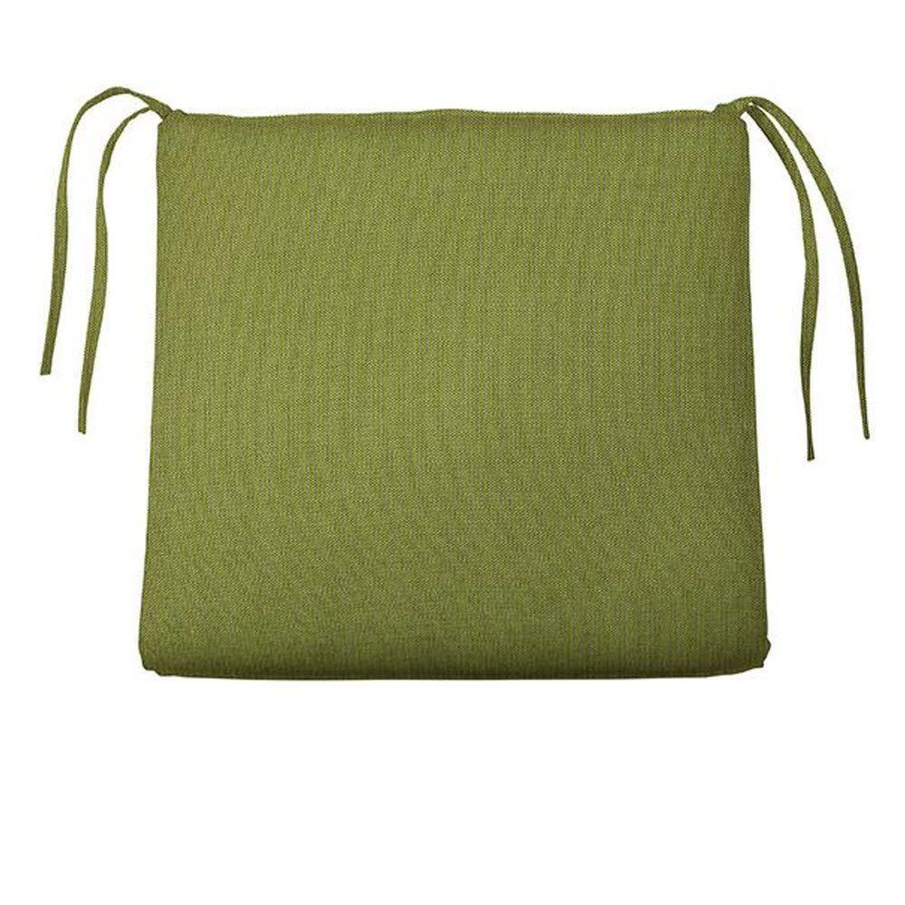 Home Decorators Collection Sunbrella Cilantro Trapezoid Outdoor Seat Cushion