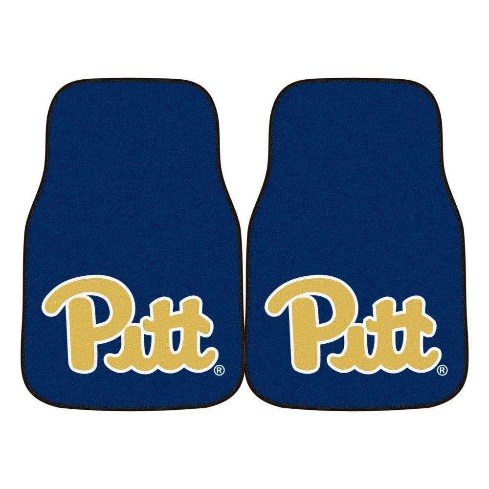 University of Pittsburgh 18 in. x 27 in. 2-Piece Carpeted Car