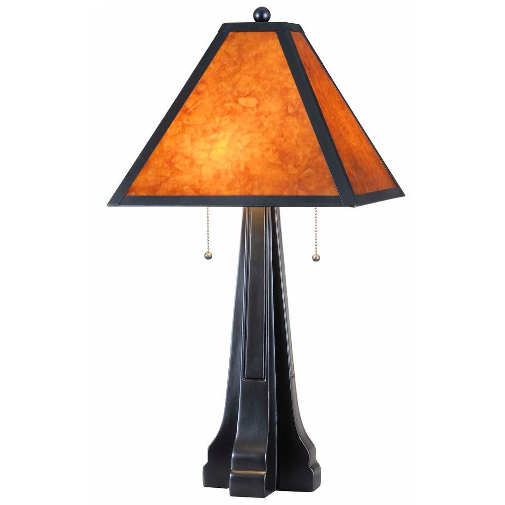 Kenroy home miles 28 in oil rubbed bronze table lamp 32413orb oil rubbed bronze table lamp geotapseo Gallery