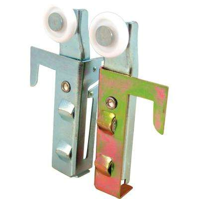 Bypass Door Top-Hung Roller Assemblies (2-Pack)