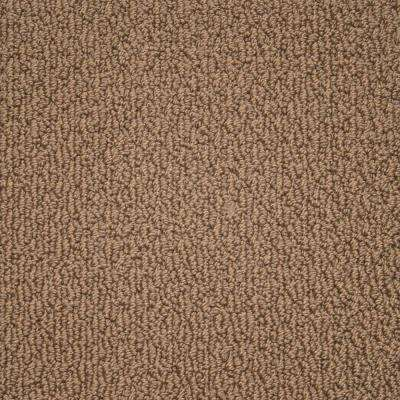 carpet sample paradise color caramel texture 8 in x 8 in