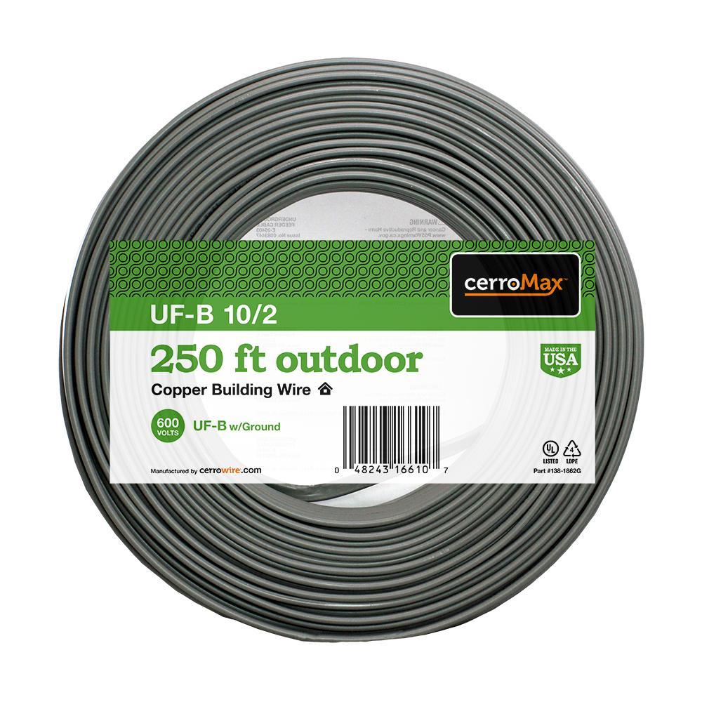 250 ft. 10/2 UF-B Wire