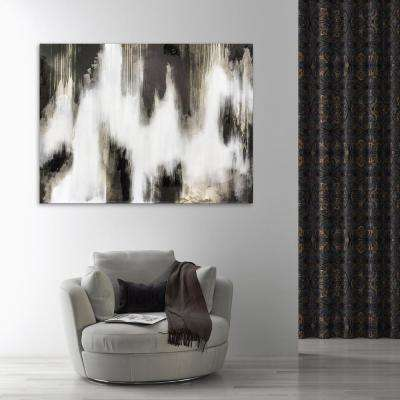 """36 in. x 48 in. """"Marshmallow"""" by Jade Printed and Painted Canvas Wall Art"""