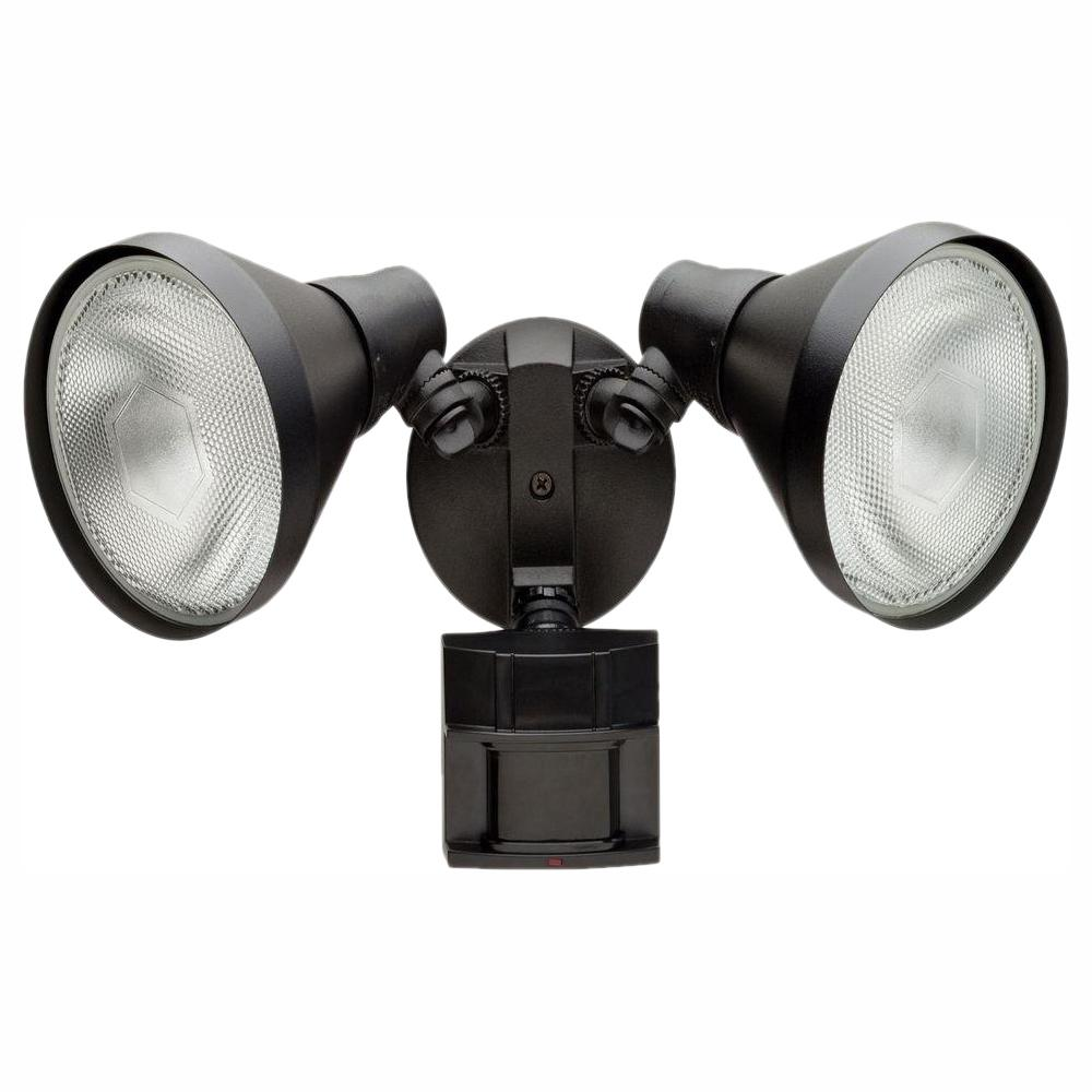 180 Degree Black Motion Sensing Outdoor