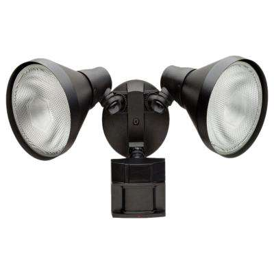 180 Degree Black Motion Sensing Outdoor Security Light